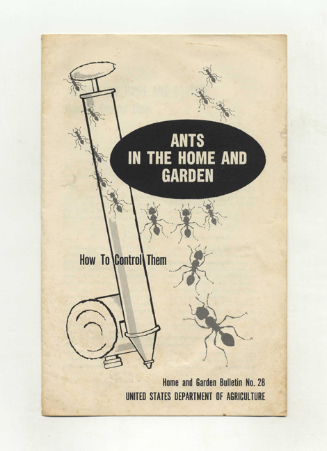 Ants In The Home And Garden. How To Control Them. Agricultural Research Service.
