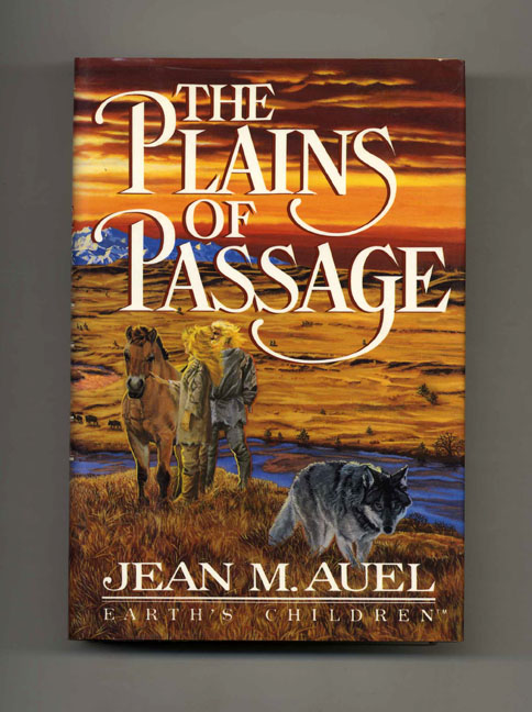 The Plains of Passage - 1st Edition/1st Printing. Jean M. Auel.