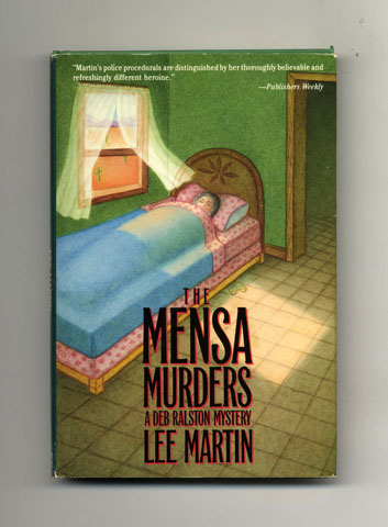 The Mensa Murders - 1st Edition/1st Printing. Lee Martin.