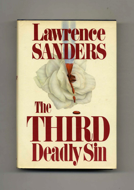 The Third Deadly Sin - 1st Edition/1st Printing. Lawrence Sanders.