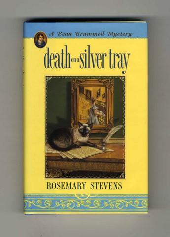 Death on a Silver Tray - 1st Edition/1st Printing. Rosemary Stevens.