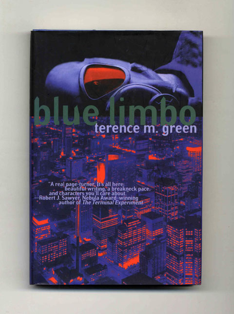 Blue Limbo - 1st Edition/1st Printing. Terence M. Green.