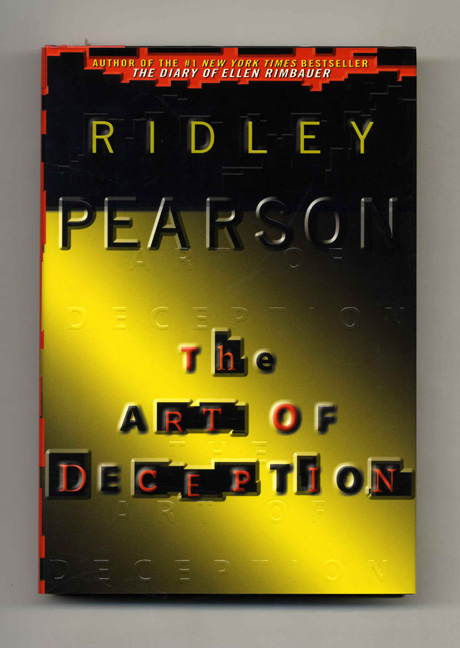 The Art of Deception - 1st Edition/1st Printing. Ridley Pearson.