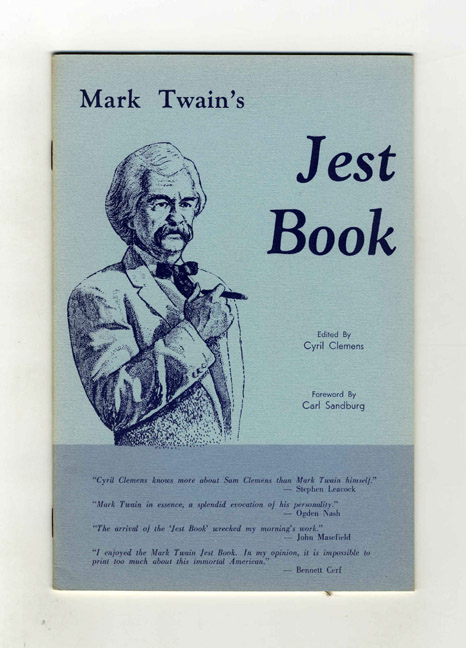 Mark Twain's Jest Book. Cyril Clemens.