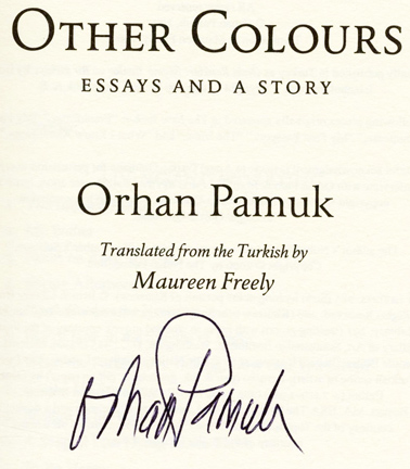"orhan pamuk the art of fiction essay Orhan pamuk was born in 1952 in istanbul, where he continues to live his family had made a fortune in railroad construction during the early days of the turkish republic and pamuk attended robert college, where the children of the city""s privileged elite received a secular, western-style education."