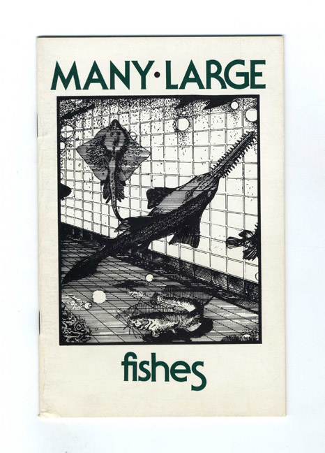 Many Large Fishes - 1st Edition/1st Printing. John Krüth.