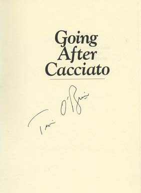 going after cacciato Need help with chapter 1 in tim o'brien's going after cacciato check out our revolutionary side-by-side summary and analysis.