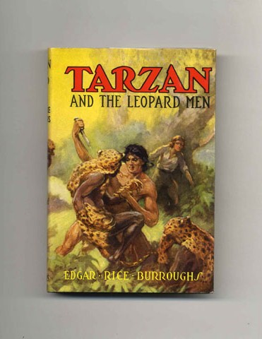 Tarzan and the Leopard Men. Edgar Rice Burroughs.