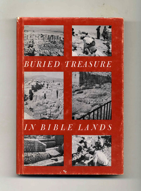 Buried Treasure in Bible Lands - 1st Edition/1st Printing. Lenore Cohen.