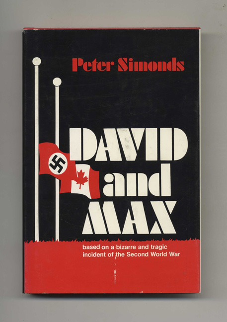 David and Max - 1st Edition/1st Printing. Peter Simonds.