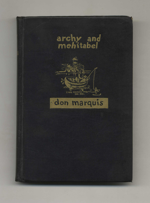 Archy and Mehitabel. Don Marquis.
