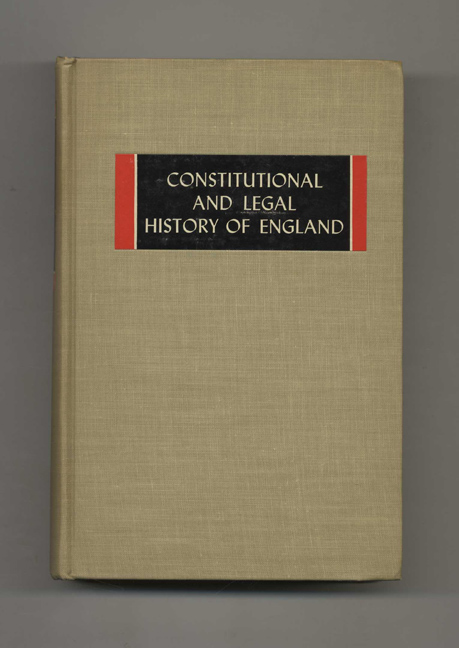 Constitutional and Legal History of England. M. M. Knappen.
