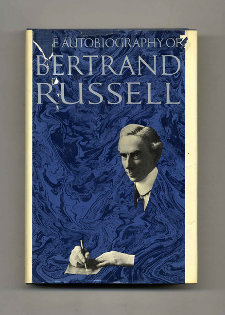 The Autobiography of Bertrand Russell: 1872-1914 - 1st US Edition/1st Printing. Bertrand Russell.