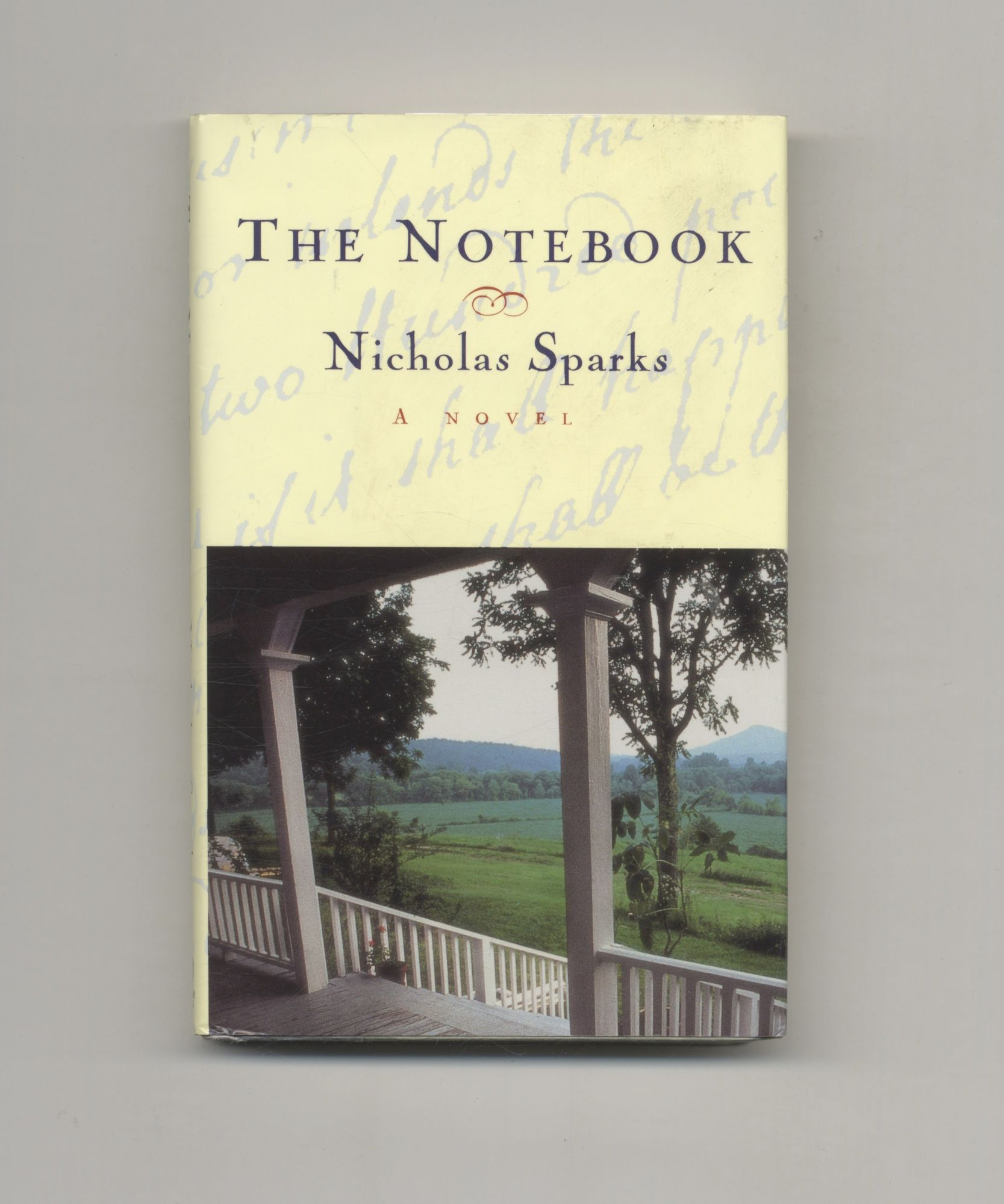 nicholas sparks the notebook book report A q & a with nicholas sparks discussion questions nicholas sparks on nicholas sparks prologue one the words of love.