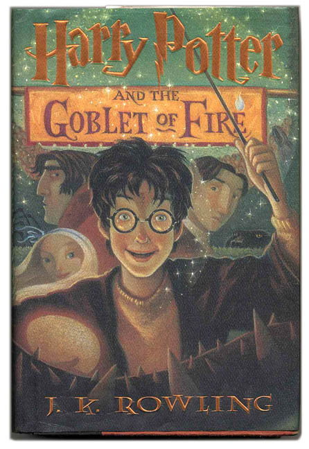 Harry Potter And The Goblet Of Fire 1st Us Edition Printing J K