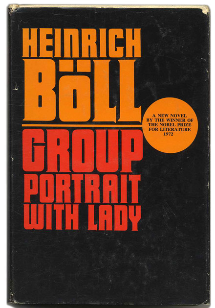 Group Portrait with Lady - 1st US Edition/1st Printing. Heinrich and Boll, Leila Vennewitz.