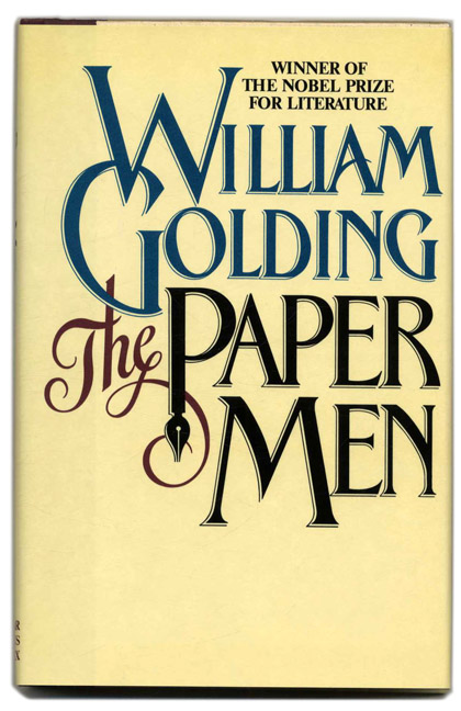 The Paper Men - 1st Edition/1st Printing. William Golding.