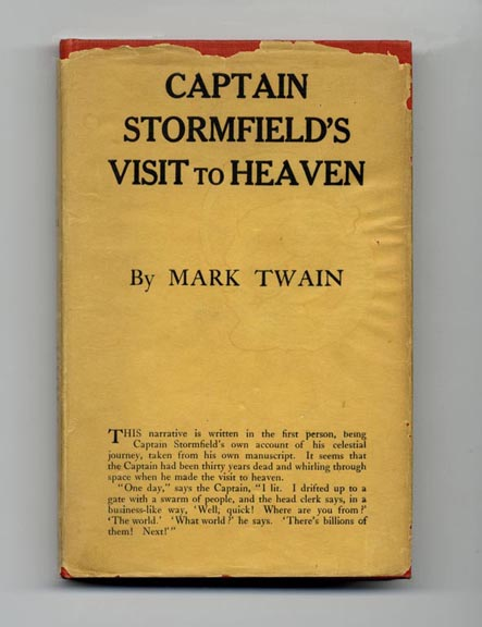 Extract From Captain Stormfield's Visit To Heaven - 1st Edition/1st Printing
