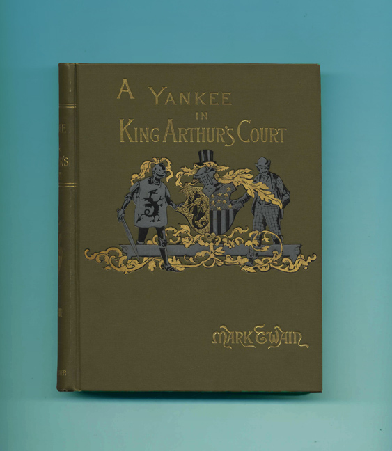 A Connecticut Yankee In King Arthur's Court - 1st Edition/1st Printing
