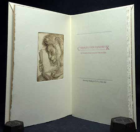 Charles Van Sandwyk: An Interim Bibliography 1983 To 2000