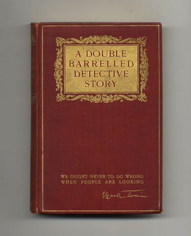 A Double Barrelled Detective Story - 1st Edition