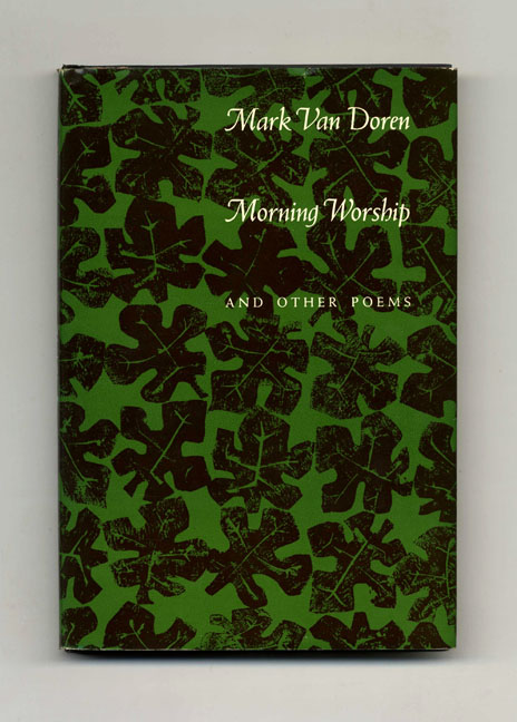 Morning Worship And Other Poems - 1st Edition/1st Printing