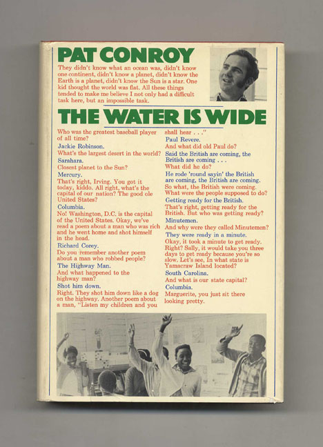 The Water is Wide - 1st Edition/1st Printing