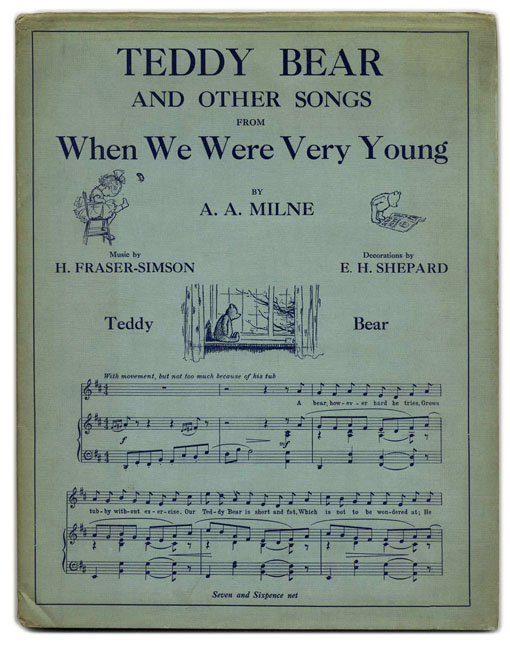"Teddy Bear And Other Songs From ""When We Were Very Young"" - 1st Edition"