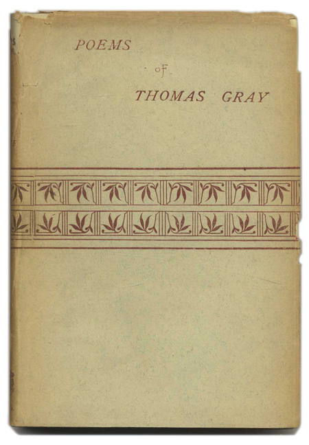 Gray: Selected Poems [Cover title: Poems of Thomas Gray]