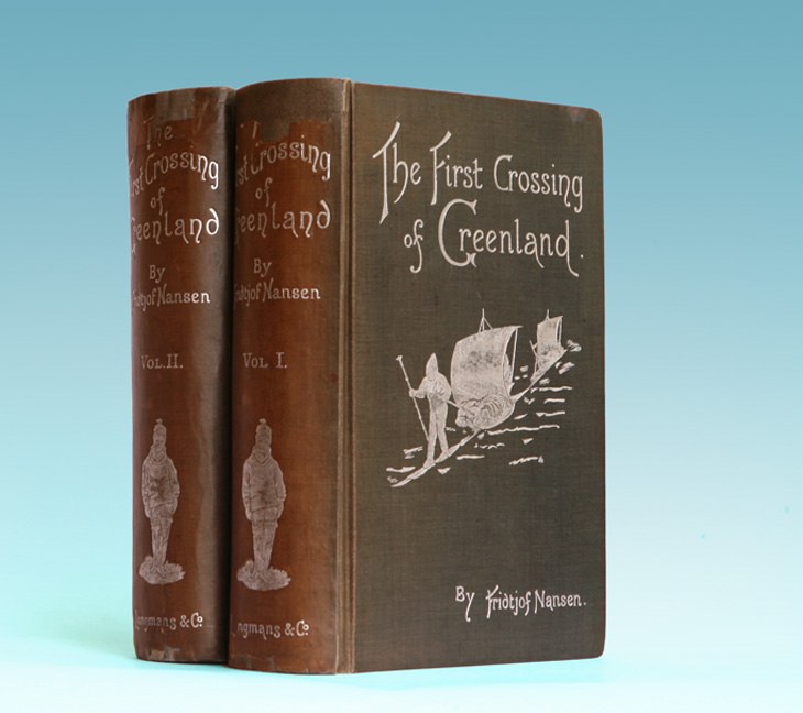 The First Crossing of Greenland - 1st English Edition