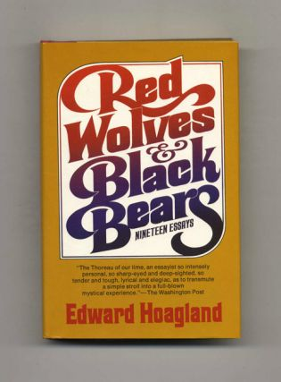 Red Wolves And Black Bears - 1st Edition/1st Printing