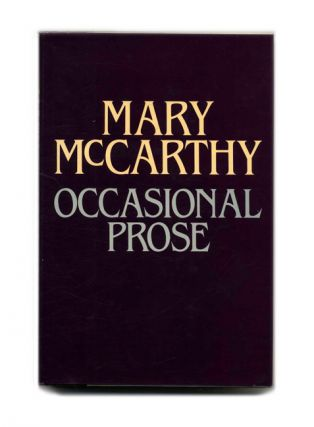 Occasional Prose - 1st Edition/1st Printing