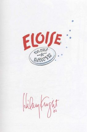 Eloise Takes a Bawth - 1st Edition/1st Printing