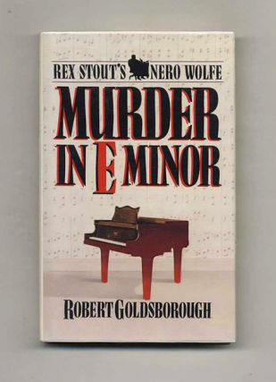 Murder In E Minor - 1st Edition/1st Printing