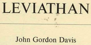 Leviathan - 1st Edition/1st Printing