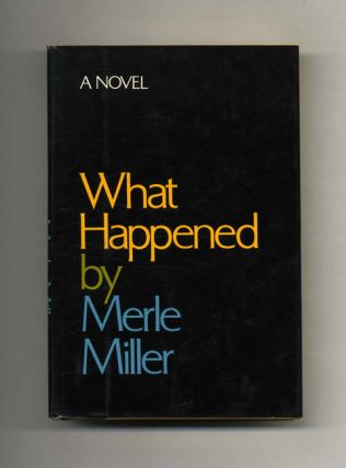 What Happened - 1st Edition/1st Printing