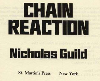 Chain Reaction - 1st Edition/1st Printing