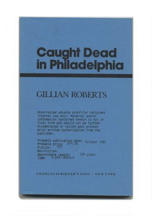 Caught Dead In Philadelphia
