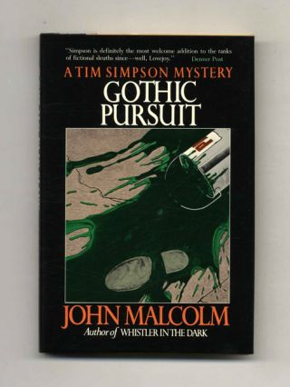 Gothic Pursuit - 1st US Edition/1st Printing