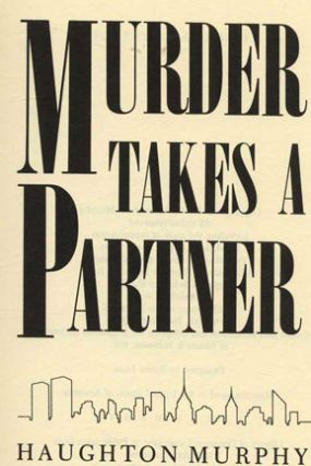 Murder Takes A Partner - 1st Edition/1st Printing