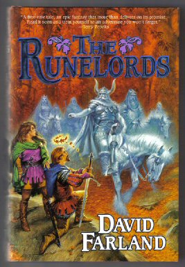 The Runelords - 1st Edition/1st Printing