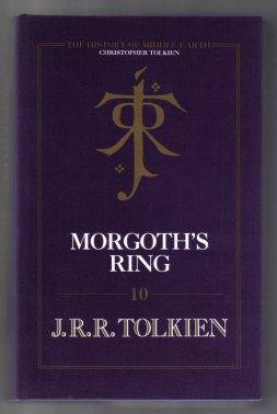 Morgoth's Ring - 1st Edition/1st Printing