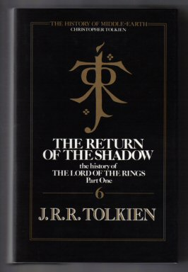 The Return Of The Shadow - 1st Edition/1st Printing