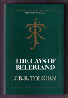 The Lays Of Beleriand - 1st Edition/1st Printing