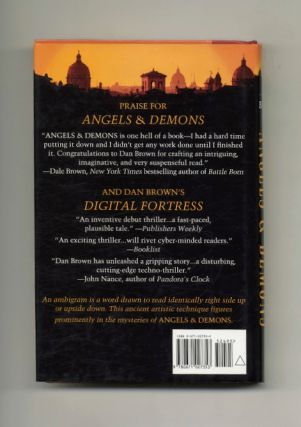 Angels And Demons - 1st Edition/1st Printing