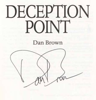 Deception Point - 1st Edition/1st Printing