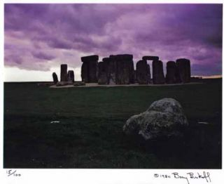 The Enigma Of Stonehenge - Signed Numbered Edition. John Fowles, Barry Brukoff