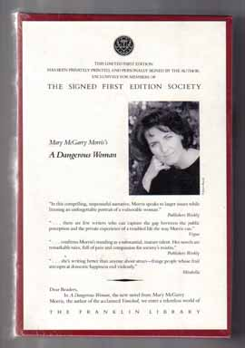 A Dangerous Woman - 1st Edition/1st Printing. Mary McGarry Morris