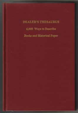 Dealer's Thesaurus - 1st Edition/1st Printing