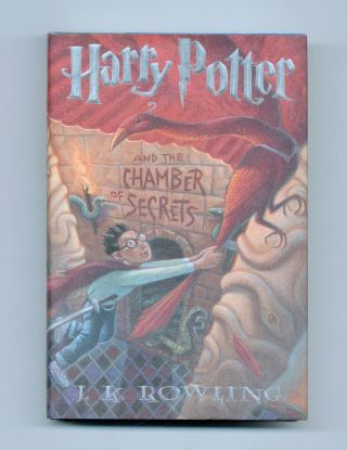 Harry Potter And The Chamber Of Secrets - 1st US Edition/1st Printing. J. K. Rowling.